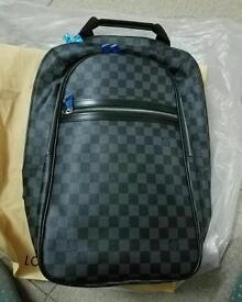 Black Louis Vuitton Backpack Rucksack