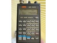 AOR A1000 Scanner 1000 channel wide band scanner