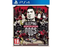 Sleeping Dogs Definitive Limited Edition (PS4) Like New