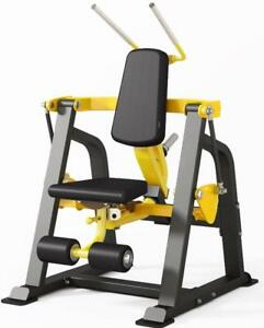 NEW eSPORT Strength Plate-Loaded Abdominal & Oblique Super Crunch Machine DH025