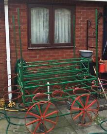 Market flower barrow/cart