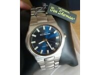 Ben Sherman stainless steel watch