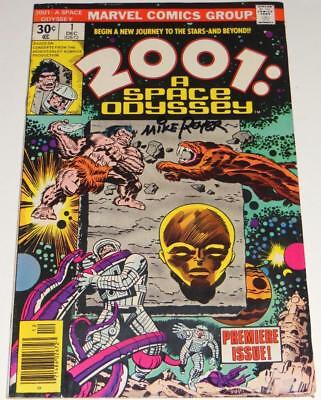 2001: A SPACE ODYSSEY #1~MARVEL COMICS~SIGNED MIKE ROYER~ 1976~JACK KIRBY