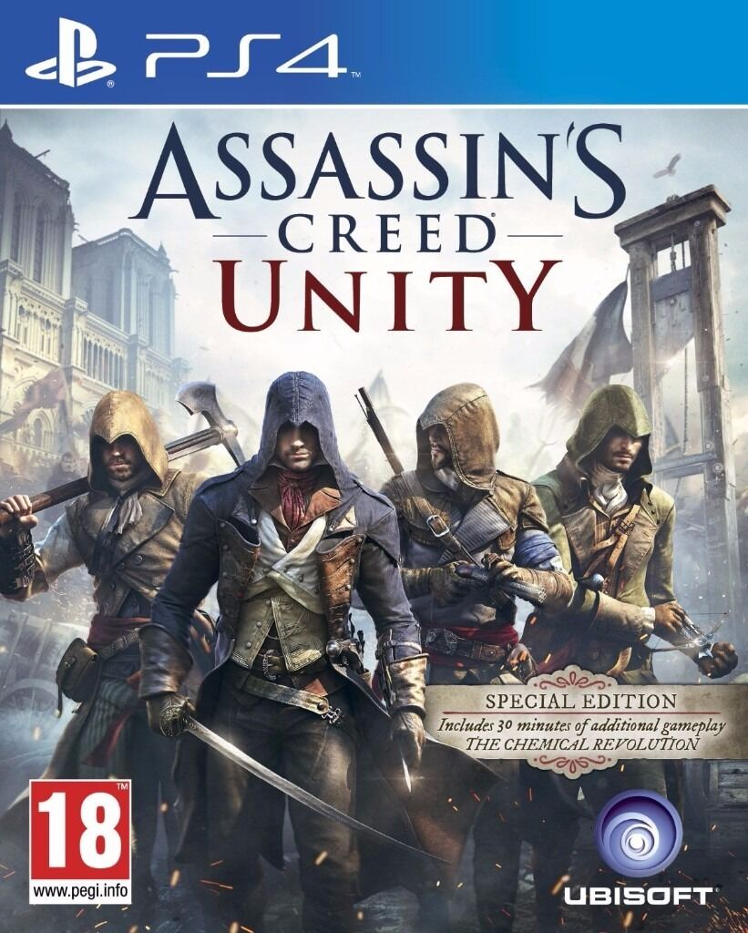 Assassins Creed Unity (PS4) used game, excellent conditionin Sunderland, Tyne and WearGumtree - assassins creed unity ,like new condition, used game, but hardly used Introducing Assassins Creed Unity, the blockbuster franchises new chapter powered by the all new Anvil engine, rebuilt from the ground up for next gen. From the storming of the...