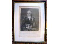 Antique 1806 Engraving of Vittorio Alfieri 1749-1803 Italian Playwright~Poet~Essayist~Autobiographer