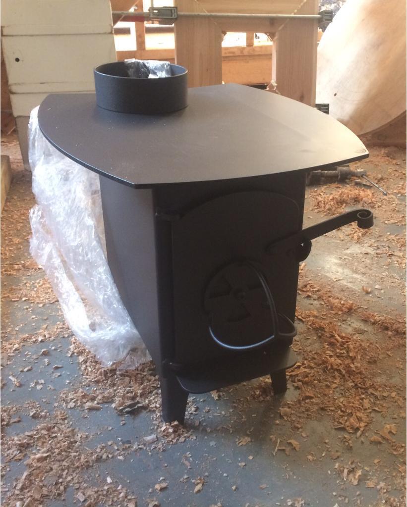 4kw wood burner / small / brand new