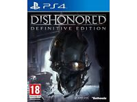 Dishonored: The Definitive Edition (PS4) playstation 4 may swap