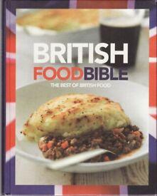 Book: British Food Bible - The Best of British Food (Hardback)