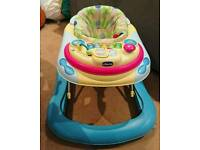 Chicco Band Walker - with removable Musical play Tray