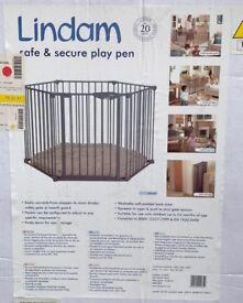 LINDAM Room divider / Travel Cot/ Play Pen / Fire Guard