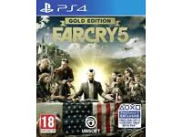 Far cry 5 ps4 gold edition