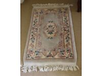 AUTHENTIC CHINESE SILK RUGS (200+ KNOT)