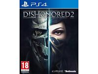 Swap dishonored 2 ps4 for fifa 17 ps4