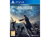 Final Fantasy 15 Wanted for Sony PS4 - Cash Waiting!