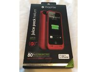 Mophie Juice pack Compact Battery Case iPhone 5/5S - Red