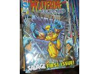Over 900 Wolverine, Spiderman and X-Men comics
