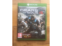 Gears of War 4 (Microsoft Xbox One, 2016) - Very good condition - near Ferndown