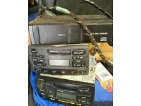Car stereo and multi changer