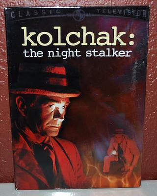 Kolchak  The Night Stalker  Dvd  2005  3 Disc Set   124