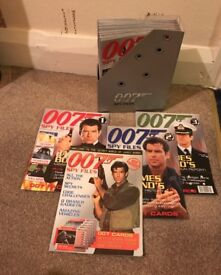 James Bond - 007 Spy Files Magazines - Complete Collection