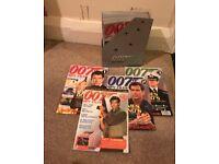 James Bond - 007 Spy Files Magazines - Complete Collection