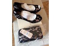Jacques vert shoes & bag