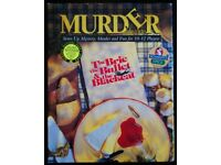 Murder Alacarte 'The Brie, The Bullet & The Blackcat' Murder Mystery Cassette Game (as new)