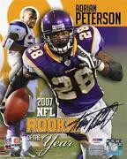 Adrian Peterson Autographed Photo