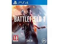 Battlefield 1 (Sony PlayStation 4)
