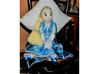 """Brand New Large hand made """"Elsa""""type doll"""