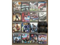 Original PS3 80gb with games and controllers