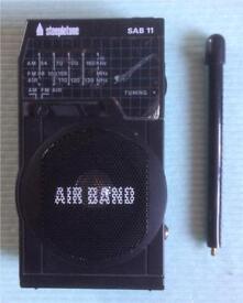 AIR SHOW STEEPLETONE AIR BAND RADIO