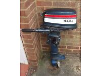 Yamaha 5HP - 2 Stroke Outboard Engine / Motor for Dinghy Boat Tender