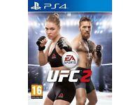 EA SPORTS UFC 2 PS4 USED