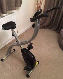 Roger Black Folding Exercise Bike For Sale - Like New Condition