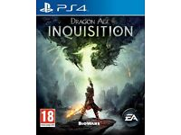 """PS4 game - """"Dragon Age Inquisition"""""""