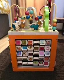 ZANY ZOO ACTIVITY CUBE/TOY