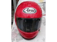 ARAI HELMET RX7-xx Red ( similar corsair)