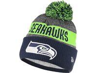 Seattle Seahawks NFL Beanie Bobble Hat