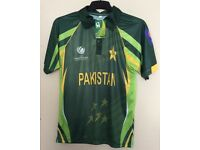 Pakistan Cricket Shirt 2013 Champions Trophy Brand New £8 Bargain!