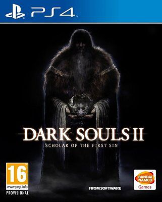 Dark Souls II 2 Scholar of the First without PS4 New Sealed in Spanish PS4 comprar usado  Enviando para Brazil