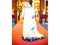 Asian/Indian/party/evening/gown/dress with scarf/dupatta