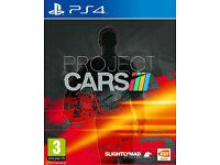 SONY PLAYSTATION PS4 GAME PROJECT CARS BANDAI NAMCO SLIGHTLYMAD STUDIOS GO-KARTS