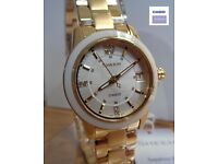 Casio SHE-4512G-7AUER Ladies 'Sheen' Gold Plated / Swarovski Crytals - NEW - RRP: £180
