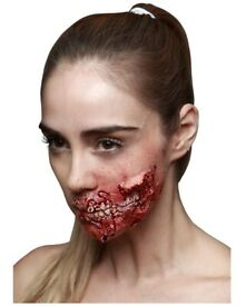 Unique Halloween costumes, body and face art.