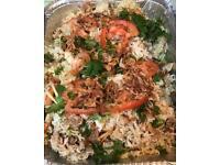 Indian Pan/Asian Party Food