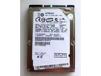 "80GB HDD 2.5"" HITACHI SATA 1.5Gb/s"