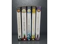 the seven wonders by peter lerangis books set