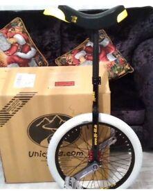 "Unicycle Qu-Ax profi 20"" professional freestyle upgraded model"