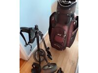 Yonex golf bag and stand (not yonex) for sale